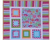 PDF Version Easy Quilt Pattern Pixie by Sew You Like It Digital Download Baby Quilt Pattern Beginner Friendly