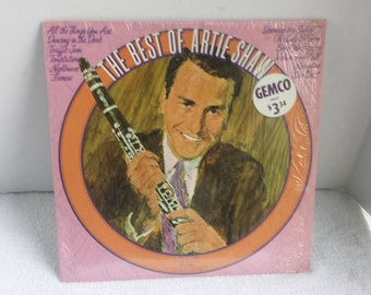 Album Lp The Best Of Artie Shaw 1975 RCA Stereo / Used