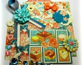 Graphic 45 Cafe Parisian Inspiration Kit, Embellishment Kit, Life Project Kit for Scrapbook Layouts Cards Mini Albums Tags Paper crafts
