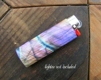 Labradorite Sticker for Lighter, lighter wraps, lighter skin, lighter cover, lighter sticker, stone, bic