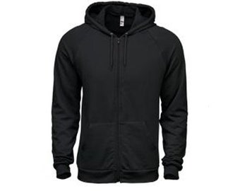 Mens hoodie sweatshirt Sale, American Apparel black- S, M, L- Worldwide shipping