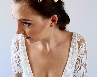 Leaf Hair Piece Bridal Head Chain Weddings Bridal Headpiece Wedding Headpiece Hair Jewelry Head Chain Head Jewelry Chain Hair Chain Maid Mar
