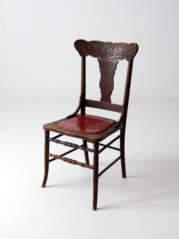 Pressed Back Dining Chairs ~ Antique pressed back chairs furniture