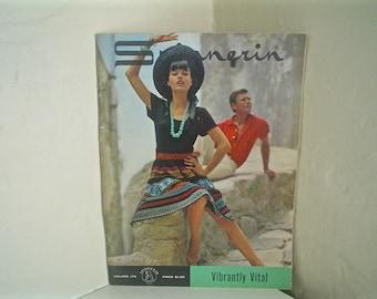 Spinnerin 1960s Knitting Patterns Volume 174, Vibrantly Vital Italian Style 1964