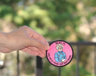 Sophia Petrillo Patch Free shipping (USA) Embroidered Patch Shady Pines iron on patches golden girls ® gift birthday boyfriend girlfriend