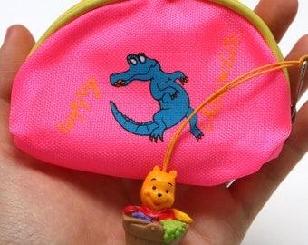 Happy Crocodile and Winnie the Pooh charmed mini pouch