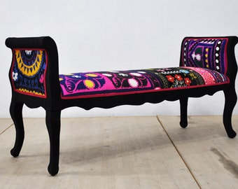 Marquis bench - black