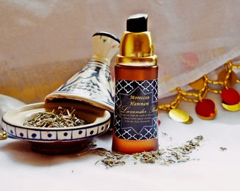 Argan and Lavender infused massage oil 50ml