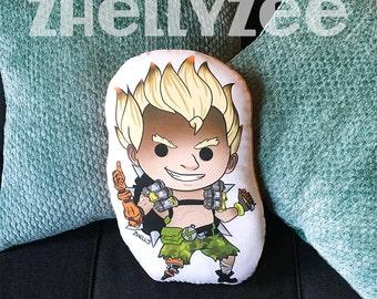 Junkrat - Overwatch Pillow Plush