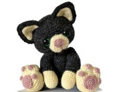 Kitten Cat Amigurumi Crochet Pattern PDF Instant Download - Charlie