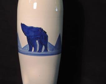 Big Bear Flower Vase 17' Irregalar