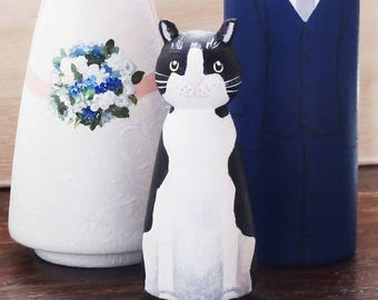 cat wedding cake toppers uk cat wedding etsy 12462