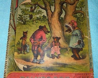 Promo Victorian 1897 Brownie Series Book Magazine The First Trousers Childrens Magazine Palmer Cox Illustrations