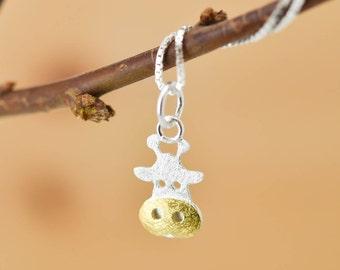 Giraffe Pendant, Giraffe Necklace, Giraffe Jewelry, Giraffe Charm, 925 Sterling Silver, Bridesmaid Gift, Best Friend Gift,  Gift for her