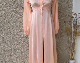 Vintage MAXI morning robe, size XS-S