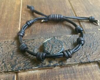 Leather bracelet, knotted bracelets boyfriend girlfriend gift