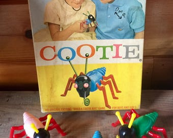 Vintage Game, Cootie, 1949, Missing some pieces