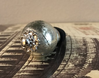 Wine Stopper - Silver Round Wine Stopper