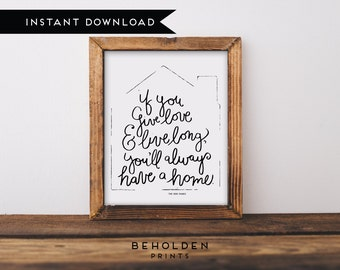 Printable, Printable Quotes, Housewarming Gift, Home Decor, Quote Printable, Dorm Wall Art, Gifts for her,Dorm Decor,Home Quotes,Calligraphy