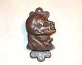 Dickens and His Characters 1910 Door Knocker A Fine Antique