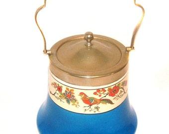 1930s Meir Ware Barker Bros Art Deco Biscuit Barrel Vintage Ice Bucket Vintage Cookie Jar Serving Kitchen Festive KitchenaliaTable