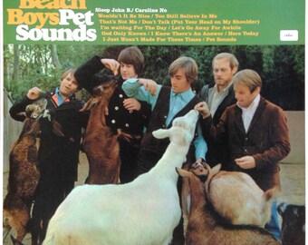 the BEACH BOYS Pet Sounds 1966 Brian Wilson Classic Lp 180 Gram SeALED Vinyl UK 1990s Audiophile Record Album Reissue