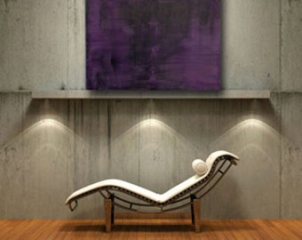 abstract purple painting original art contemporary medical art doctors office gift for doctor original painting bones spinal tap by wasilow