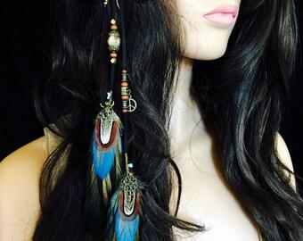 Aundria Feather Hair Clip