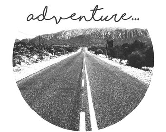 Affiche numérique - Adventure