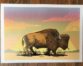 Wild and Ungovernable (Limited Edition Buffalo Print)