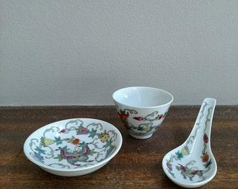 Vintage Asian set, Chinese Set