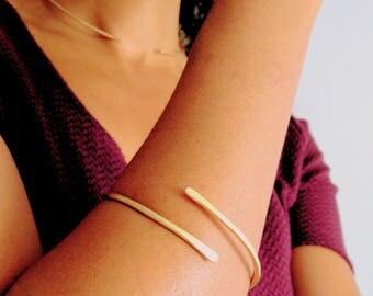 Not so Basic Hammered Cuff, cuff bracelet, bangle bracelet, stacking bracelets, gold cuff bracelet, boho bracelet, gold bracelet, birthday