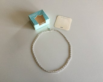 Vintage 60s Silver EMMONS Chain Necklace