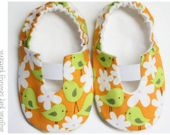 Baby Shoe Pattern - Simply Sweet - Sizes 1 to 5