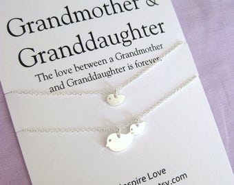Generations necklace grandmother mother daughter 50th for Birthday gifts for grandma from granddaughter