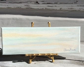 Coastal Marshland Painting/Coastal Abstract Art/Beach House Decor/Beach Art\Gallery Wall Painting