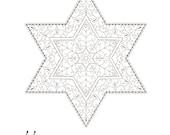 Stars of David-Golden Spi...