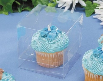 Clear Cupcake Boxes (3x3)