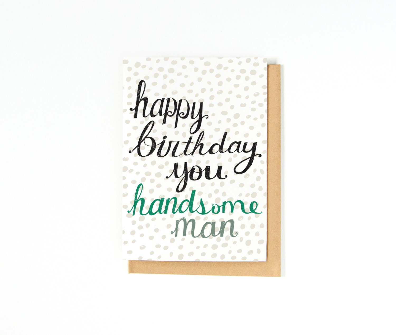 Boyfriend Birthday Card Husband Birthday Card Happy