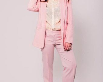 vintage dolce and gabbana dusty pink pants | US 4 Italian 40 | the rosé pant