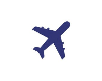 cut out airplane template - airplane cut out etsy