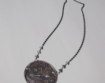 Lunar Compass Necklace