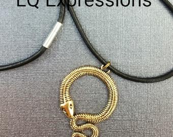 Eyeglass Holder Snake Lanyard ID Badge by LQ Expressions