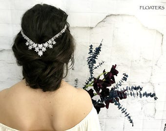 Bridal Hair Accessories, Bridal Headpiece, Wedding Headpiece, Wedding Hair Accessories, Head Chain, Wedding Headband