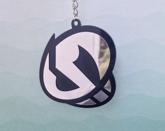 Team Skull Grunt Cosplay Necklace - Laser Cut Pendant