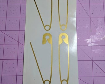 SAFEty Pin Decal