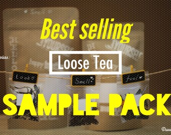 Christmas Gift  - FUN Tea Sample collection (10 most popular varieties)