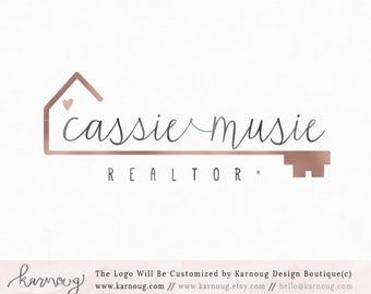 Realtor Logo Real Estate Logo Key Logo House Logo Premade Logo Watermark Logo Business Logo Branding Logo Custom Logo Logos and Watermarks