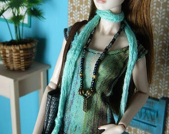 "Boho necklace ""Babylon"" for Fashion Royalty, FR2, Poppy Parker, NuFace and other 12"" fashion dolls"