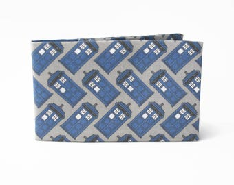Police Box Credit Card Wallet, Oyster Card Holder, Subway Pass Case, Metro Card, Geek Gift